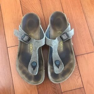 BIRKENSTOCK Leather Sandal